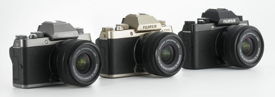 Fujifilm XT100 colores disponibles