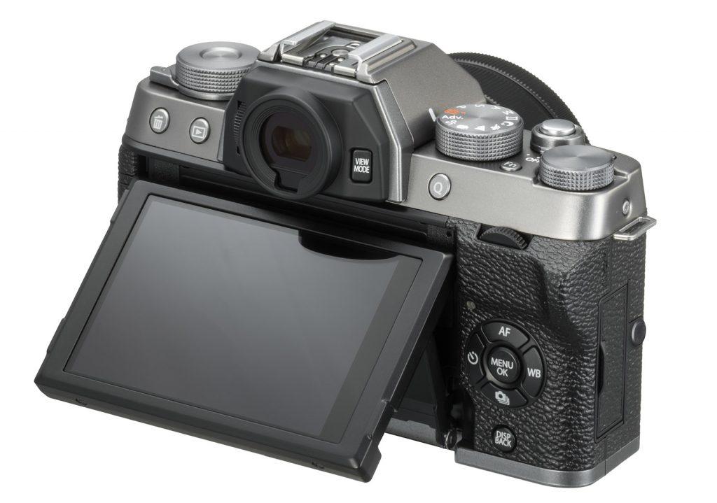 Fujifilm XT100 pantalla