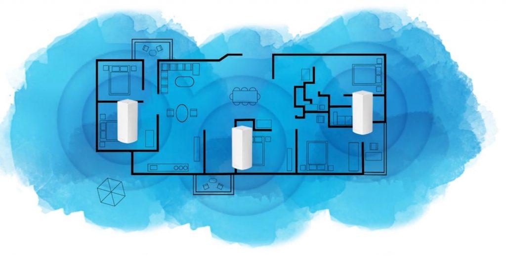 Linksys VELOP mesh home - routers wifi más recomendados de 2018