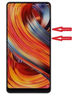 capturas de pantalla en el Xiaomi Mi Mix 2