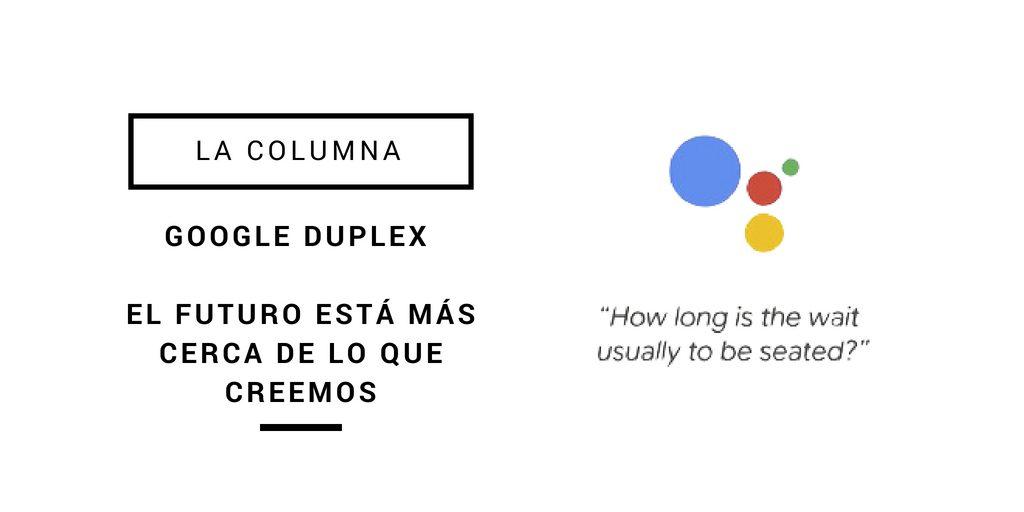 El nuevo servicio Google Duplex en España