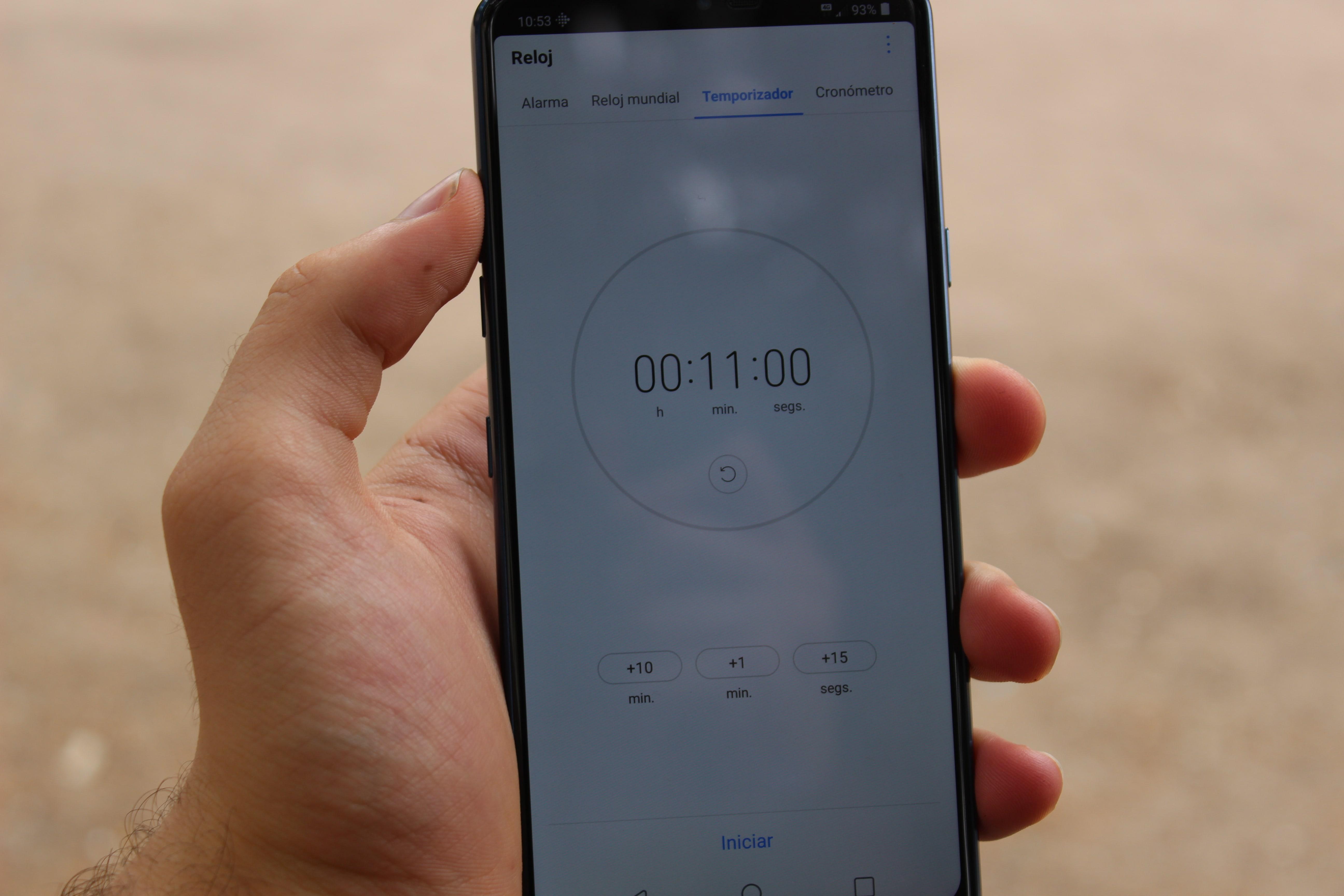 reloj interfaz lg g7 thinq