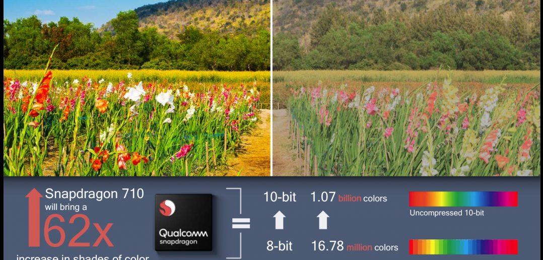 snapdragon 710 calidad de imagen