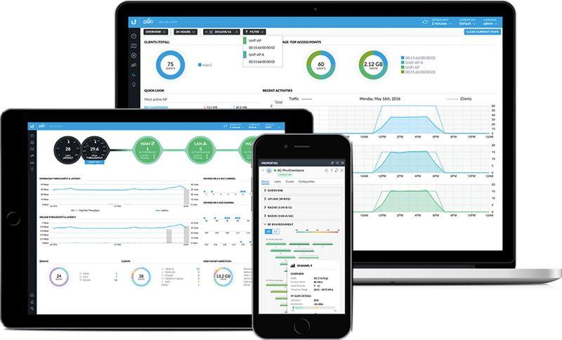 Ubiquiti Networks Unifi UAP-AC-HD Desktop application mobile app