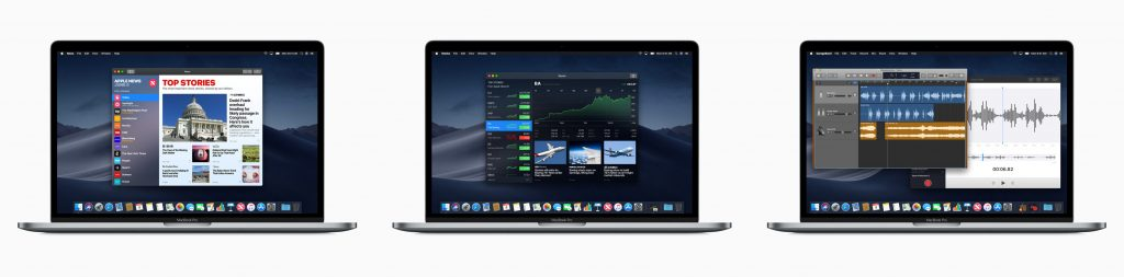 MacOS mojave apps