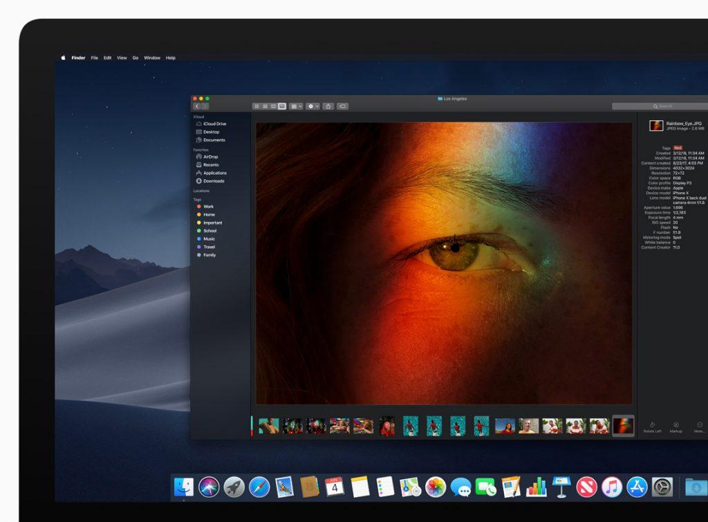 macOS nuevo modo