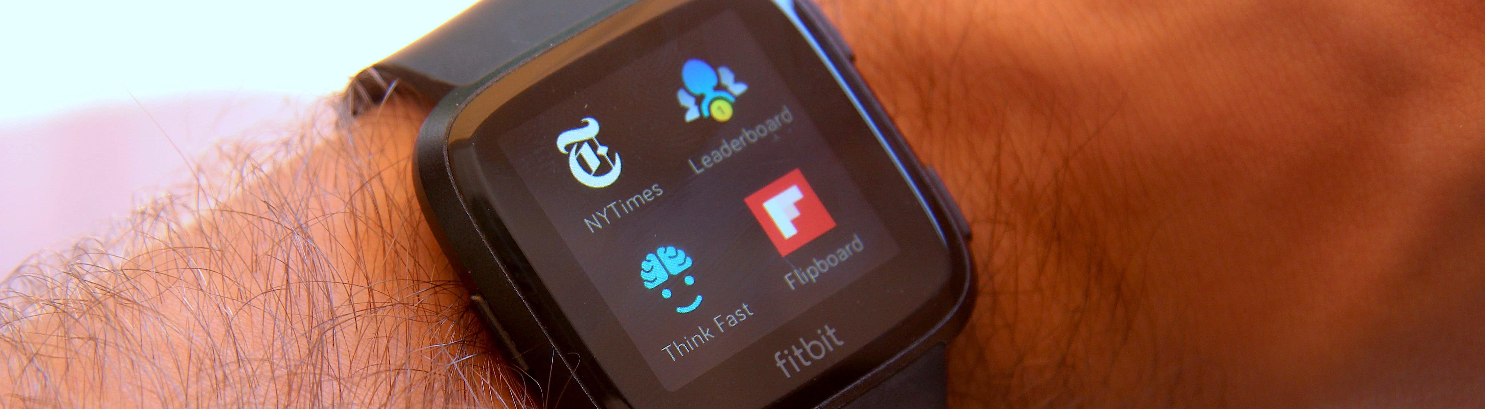 Aplicaciones Fitbit Versa TheNewYorkTimes
