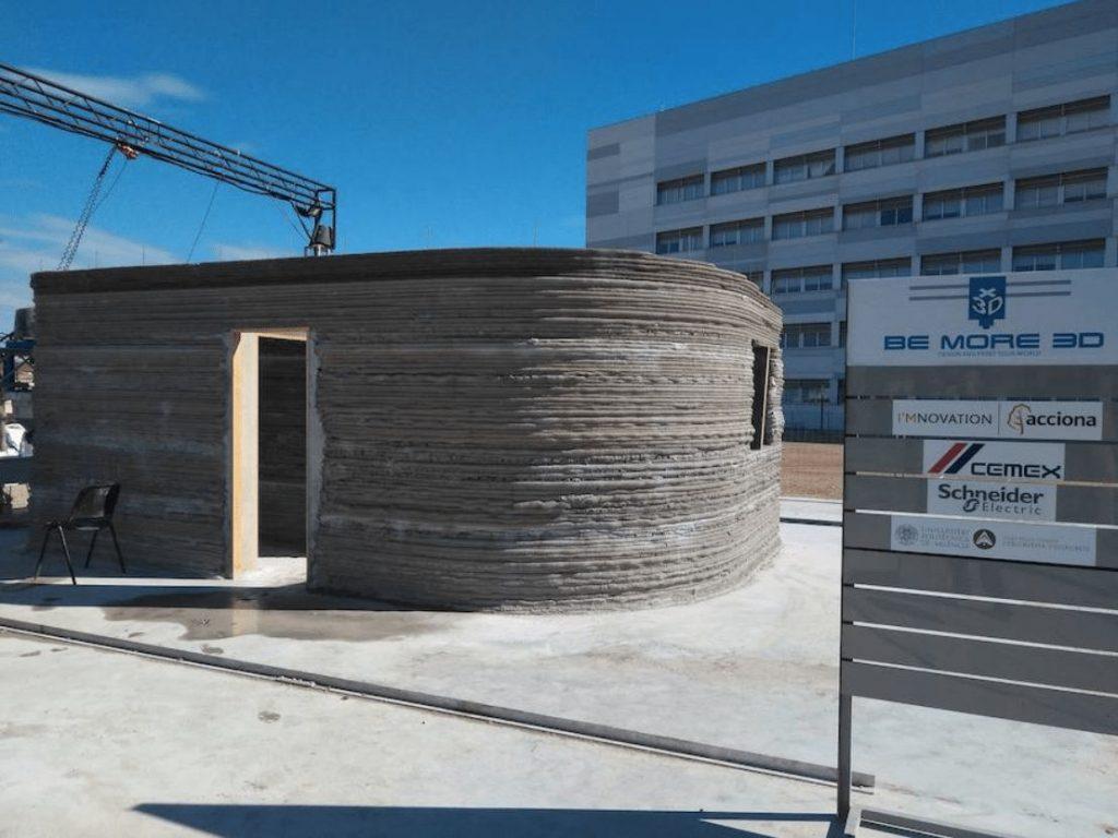 primera casa construida por una impresora 3D en España