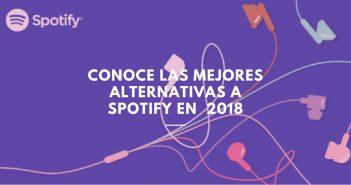 mejores alternativas a Spotify 2018