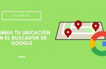 ubicación del buscador de Google