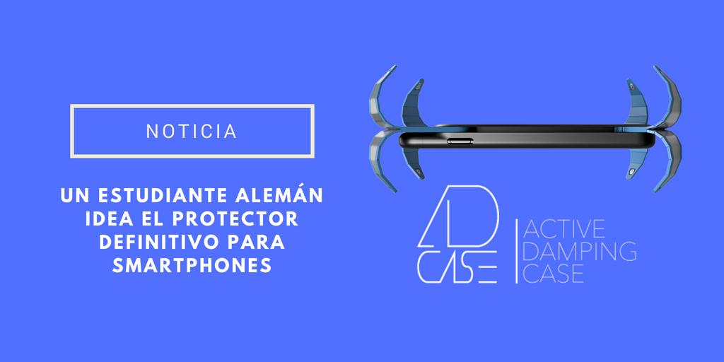 Protector araña para móviles