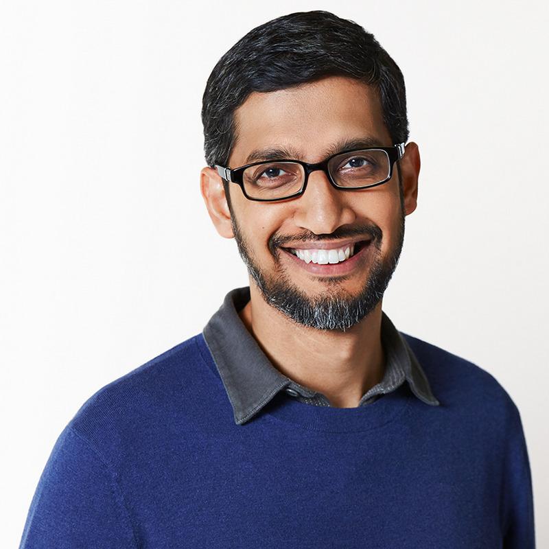 ceo de google Sundar Pichai