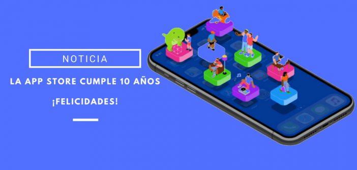 app store 10 años