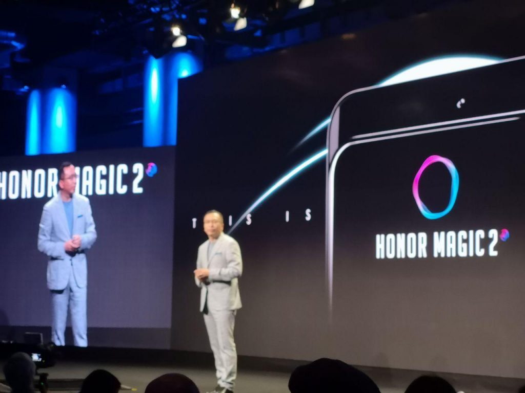 Honor Magic 2 Huawei kirin 980 ifa 2018