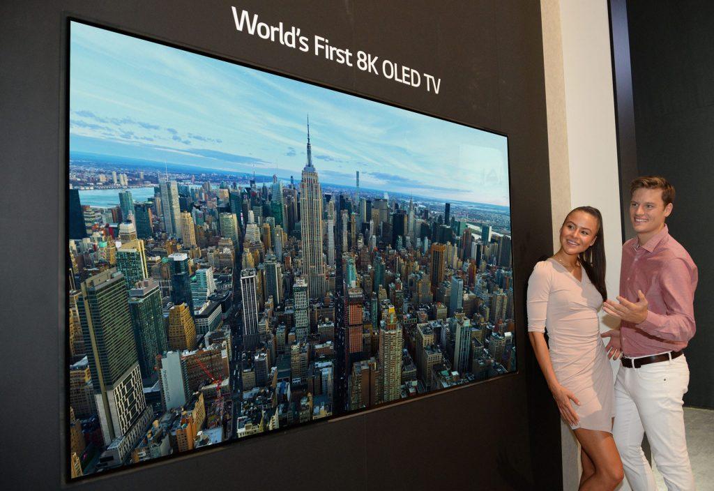 primer televisor oled 8k lg ifa 2018