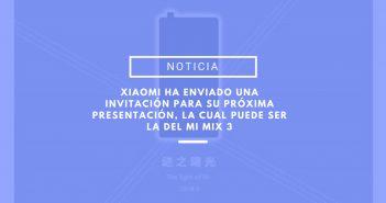 Mi Mix 3