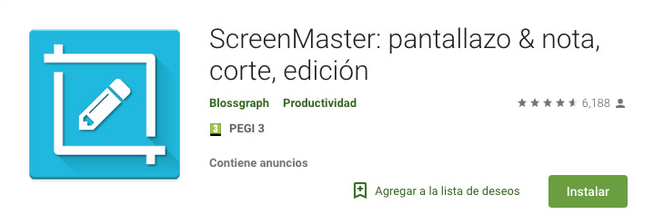 ScreenMaster capturas pantalla - capturas en el Huawei Mate 20