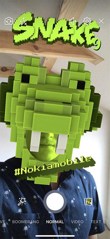 snake mask facebook