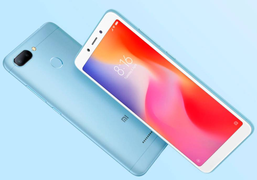 Xiaomi Redmi 6 azul