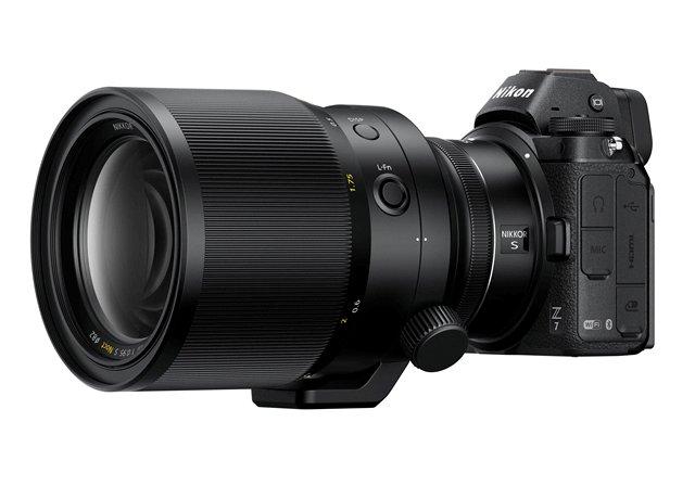 Nikon Z7 Z6 sin espejo nueva cuerpo vista noct 58mm nikkor z