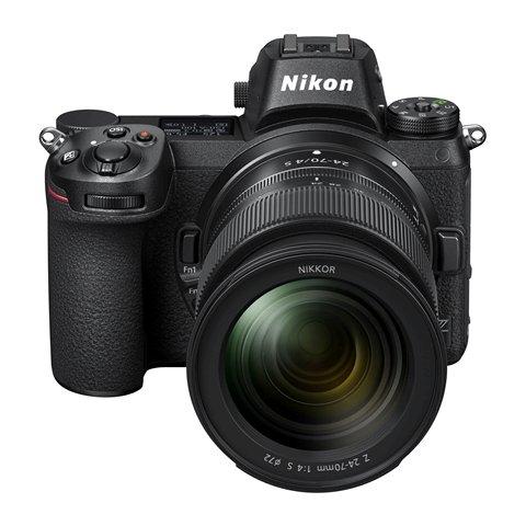 Nikon Z7 Z6 sin espejo nueva cuerpo vista