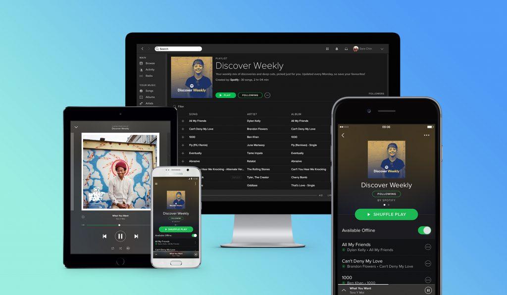 los artistas podrán subir música a spotify