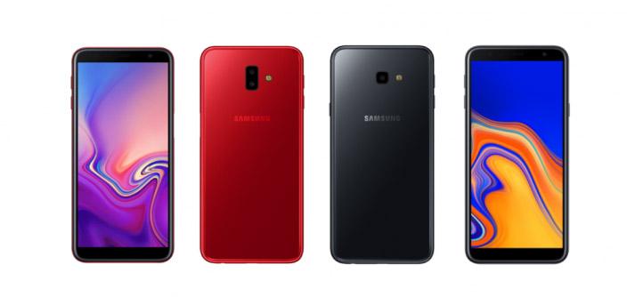 samsung galaxy j6+ rojo j4+ negro