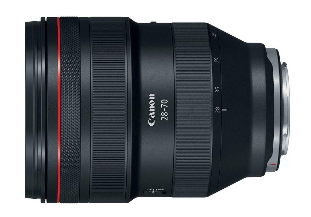 Canon EOS r cuerpo objetivo 28-70 mm sin espejo formato completo