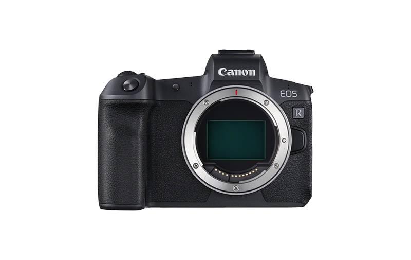 Canon EOS r cuerpo frontal sin espejo formato completo