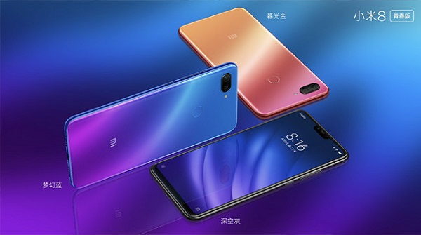Comparaciones entre el Xiaomi Mi 8 Fingerprint Edition y el Youth Edition