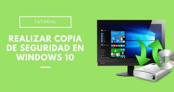 copia de seguridad de Windows 10