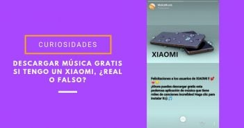 descargar música gratis si tengo un Xiaomi