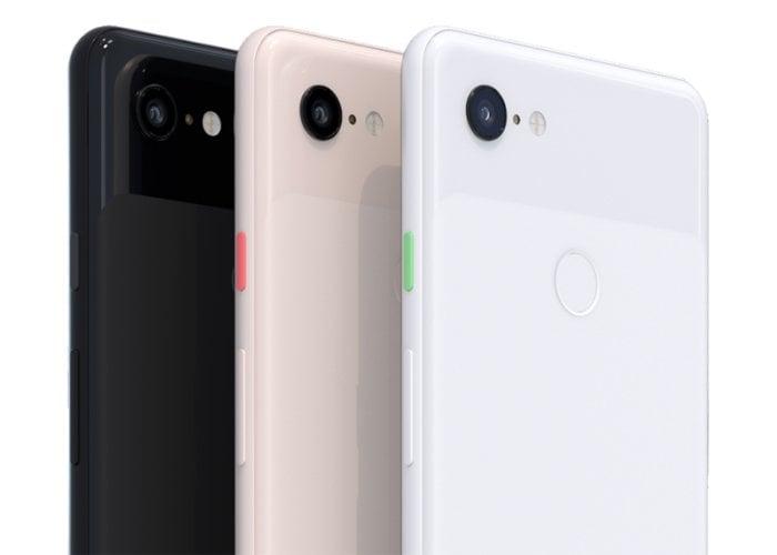google pixel 3 colores
