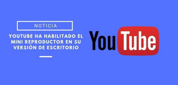 mini reproductor de youtube