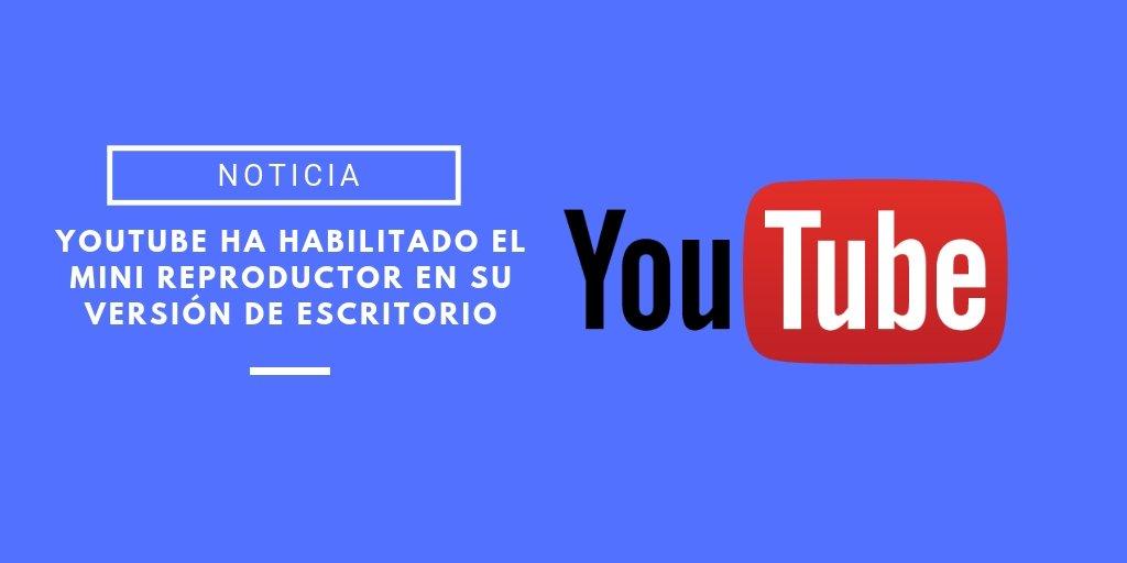 mini reproductor de youtube