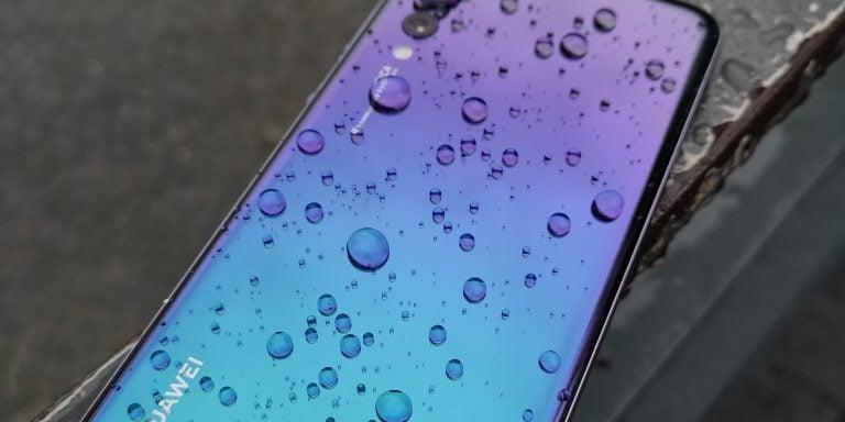 ¿Son los Huawei P20 resistentes al agua?