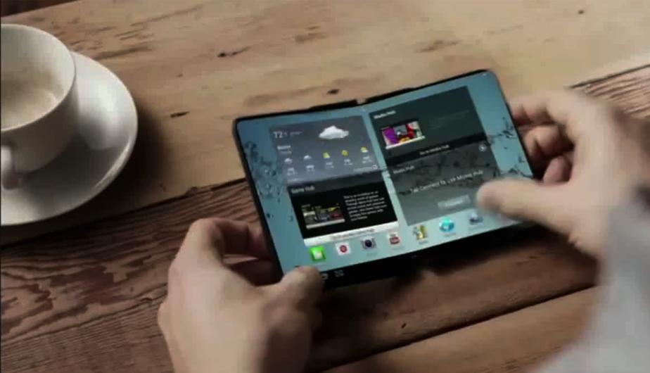 Portátiles plegables de Samsung