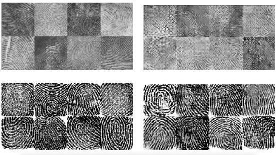 Huellas dactilares generadas por IA