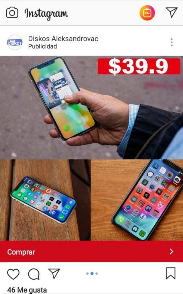 iPhone X por 39,90$