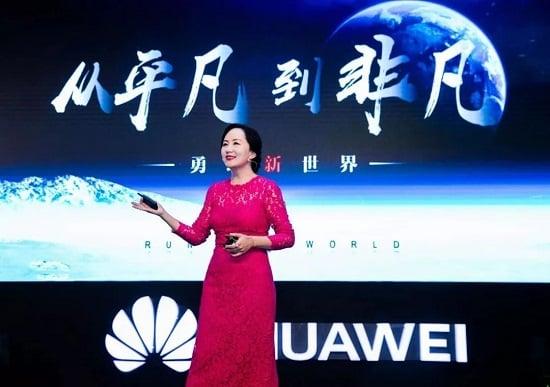 CFO de Huawei