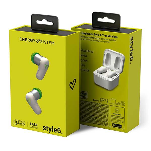 Energy Earphones Style 6 True Wireless paquete