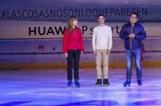 Huawei y Javier Fernández unidos contra el cáncer