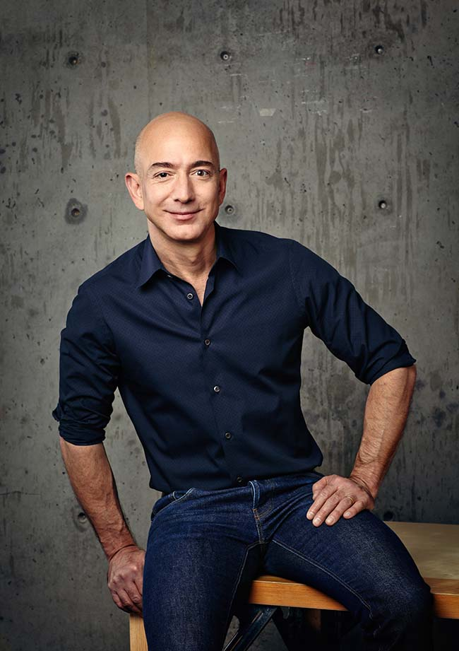 Jeff Bezos CEO de Amazon