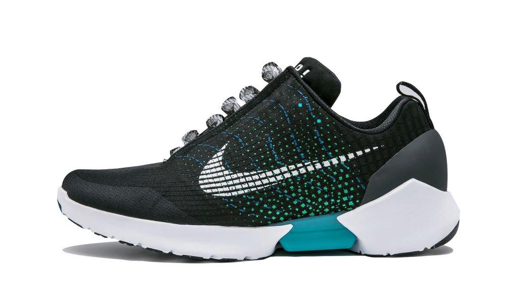 Nike HyperAdapt 1.0 zapatillas futuristas regreso al futuro se abrochan solas