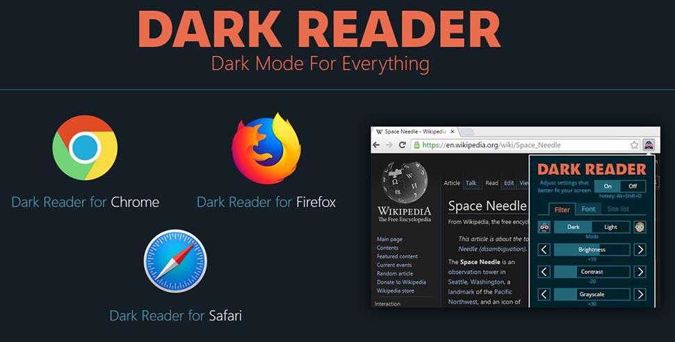 activar modo nocturno navegador