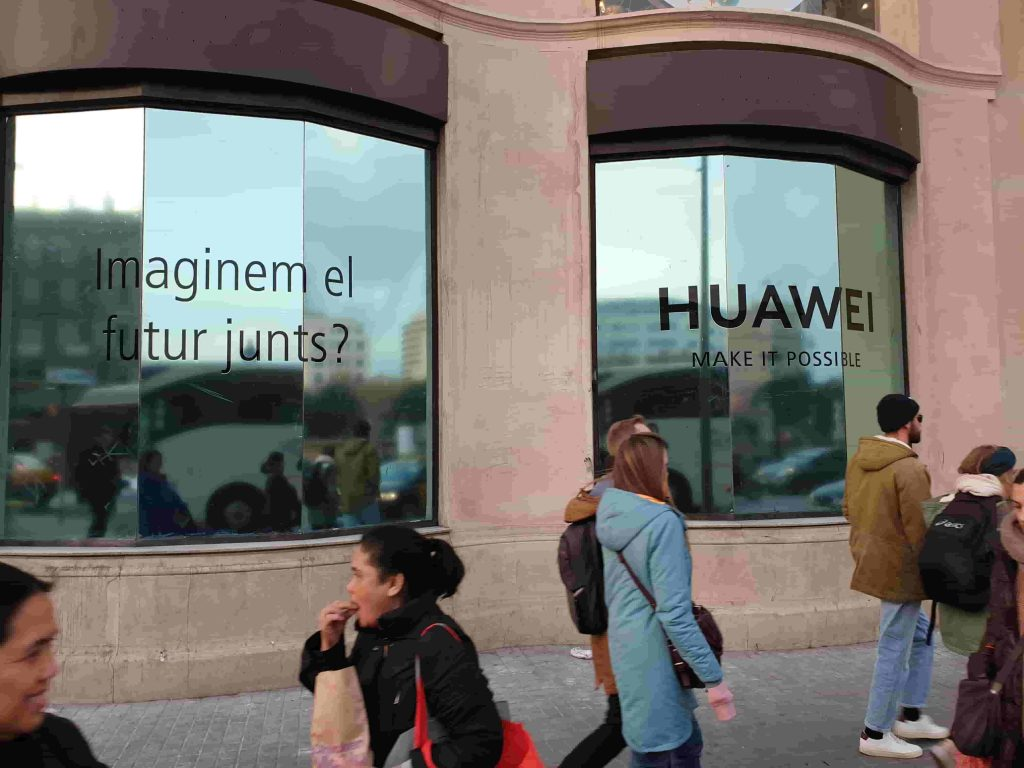 Espacio Huawei Barcelona