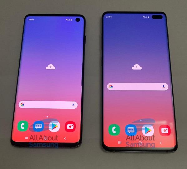 Samsung Galaxy S10 y Samsung Galaxy S10 Plus