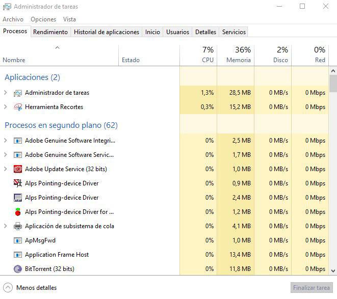 administrador tareas windows
