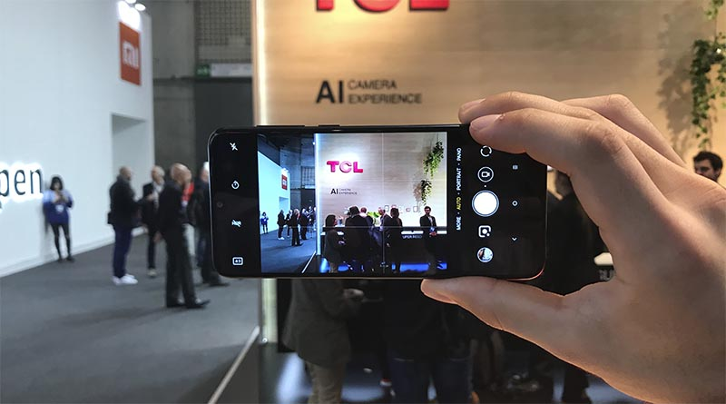 Alcatel 3 cámara trasera