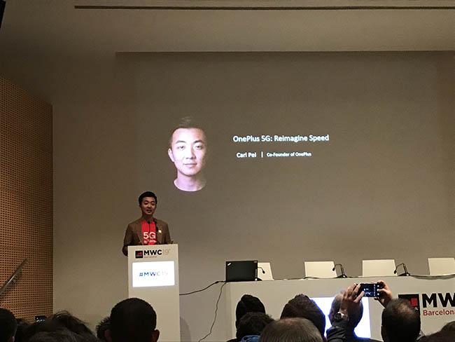 Carl Pei cofundador de OnePlus Qualcomm